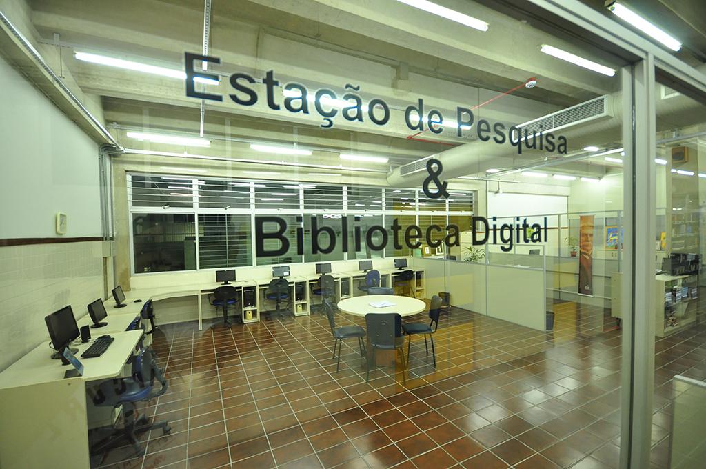Estação de Pesquisa e Biblioteca Digital