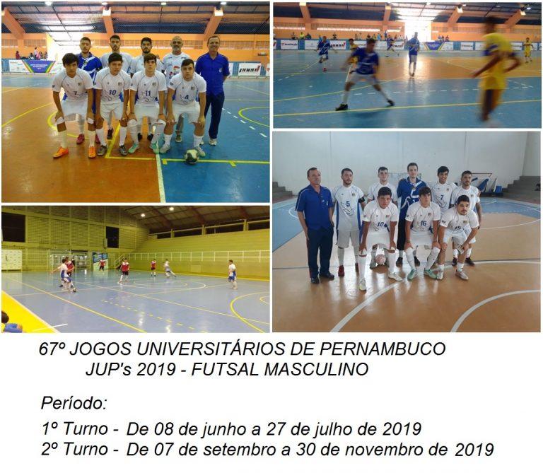 JUP's 2019 - Futsal